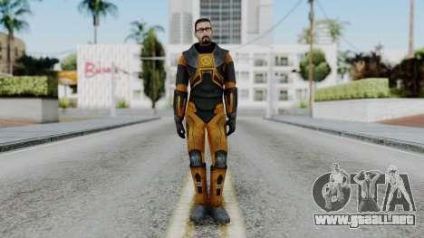 Gordon Freeman Skin para GTA San Andreas segunda pantalla