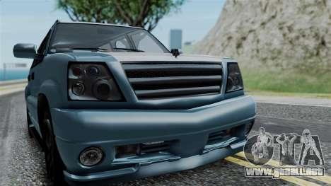 GTA 5 Albany Cavalcade v1 IVF para visión interna GTA San Andreas