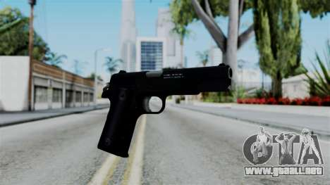 No More Room in Hell - Colt 1911 para GTA San Andreas segunda pantalla