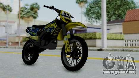 GTA 5 Atomic Sanchez para GTA San Andreas