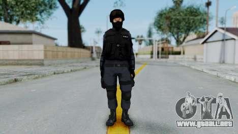 S.W.A.T v3 para GTA San Andreas segunda pantalla