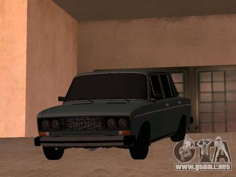 VAZ 2106 BPAN para la visión correcta GTA San Andreas