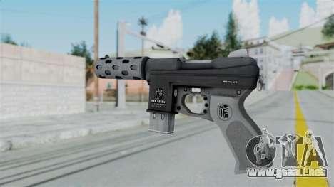 GTA 5 Machine Pistol - Misterix 4 Weapons para GTA San Andreas segunda pantalla