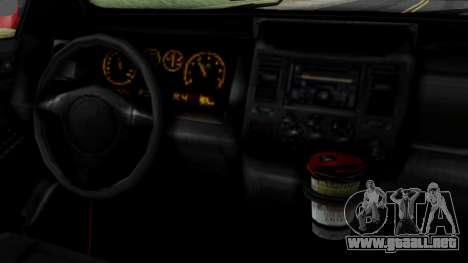 GTA 5 Albany Cavalcade v2 para GTA San Andreas vista posterior izquierda
