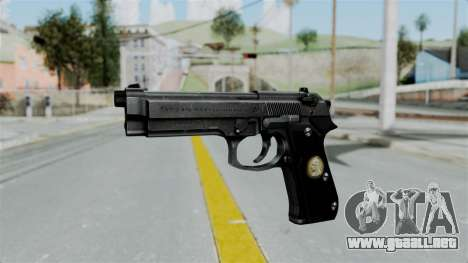 Tariq Iraq Pistol para GTA San Andreas