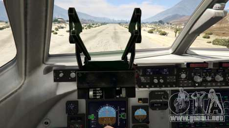 GTA 5 C-17A Globemaster III v.1.1 cuarto captura de pantalla