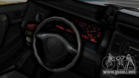 GTA 5 Albany Cavalcade v1 IVF para la visión correcta GTA San Andreas