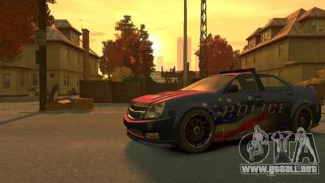 Albany Police Stinger para GTA 4 left