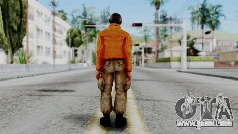 CS 1.6 Hostage 02 para GTA San Andreas tercera pantalla