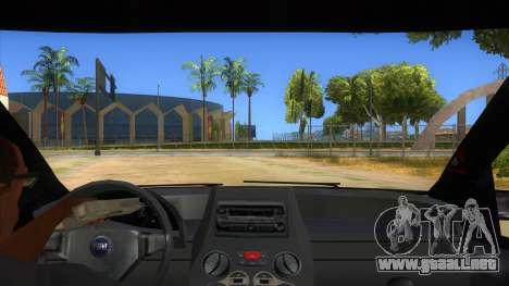 Fiat Panda V3 para visión interna GTA San Andreas