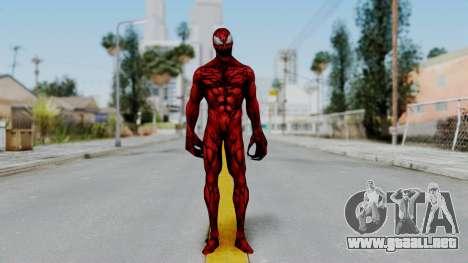 Marvel Future Fight - Carnage para GTA San Andreas segunda pantalla