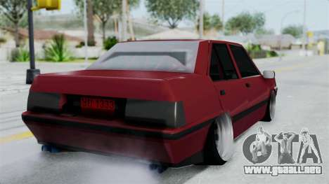 Proton Iswara 1985 Advanced para GTA San Andreas left