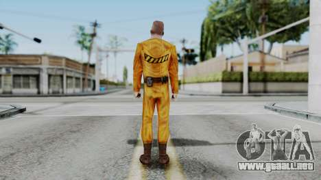 CS 1.6 Hostage A para GTA San Andreas tercera pantalla