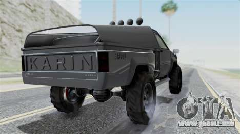 GTA 5 Karin Rebel 4x4 IVF para GTA San Andreas left