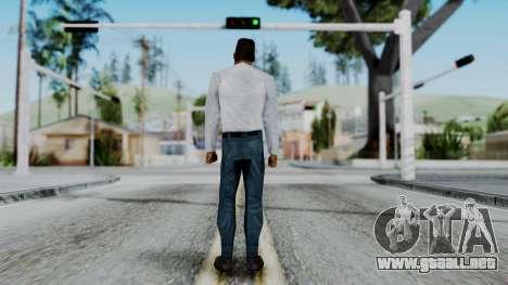 CS 1.6 Hostage B para GTA San Andreas tercera pantalla