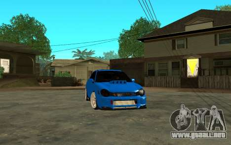Subaru Impreza WRX STi Wagon 2003 para GTA San Andreas