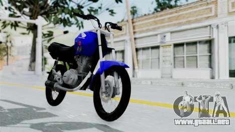 Honda CG Titan 2014 Stunt para GTA San Andreas