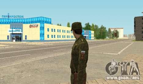 Los infantes de marina de las fuerzas armadas para GTA San Andreas quinta pantalla