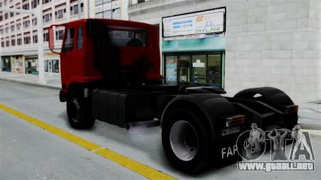 FAP Kamion Stock para GTA San Andreas left
