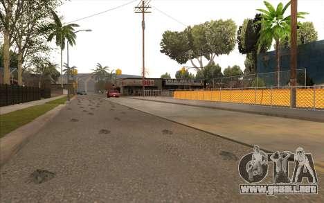 El trabajo de reparación de la Calle Grove para GTA San Andreas sexta pantalla