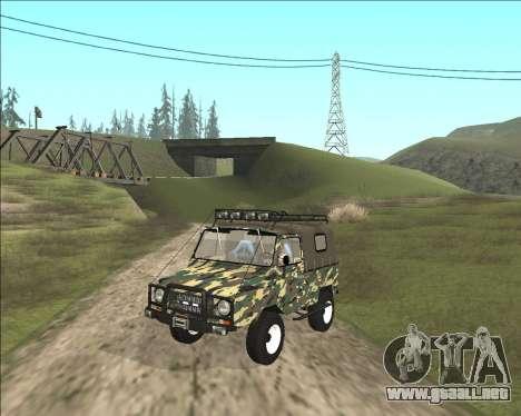 969М LuAZ Fuera de la Carretera para GTA San Andreas