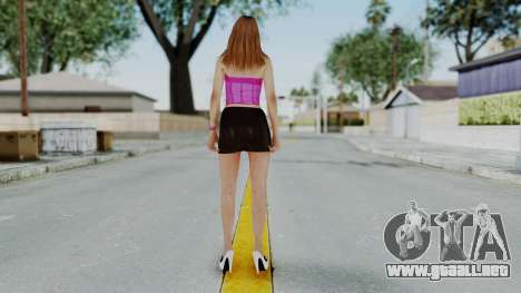 GTA 5 Hooker 01 v2 para GTA San Andreas tercera pantalla