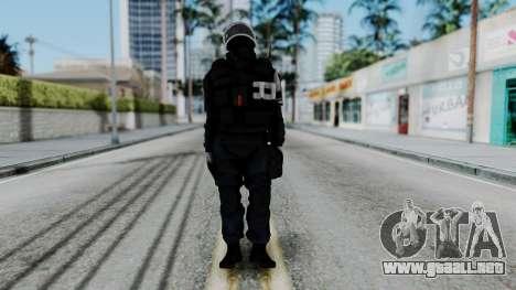 GIGN Gas Mask from Rainbow Six Siege para GTA San Andreas segunda pantalla
