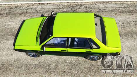GTA 5 VAZ 21099 vista trasera