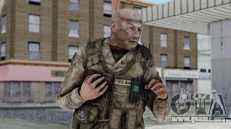 Crysis 2 US Soldier FaceB2 Bodygroup A para GTA San Andreas