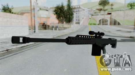 GTA 5 Heavy Sniper (M82 Barret) para GTA San Andreas segunda pantalla