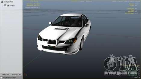 2006 Subaru Impreza WRX STI JDM