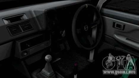 Toyota AE86 Trueno Hella para la visión correcta GTA San Andreas