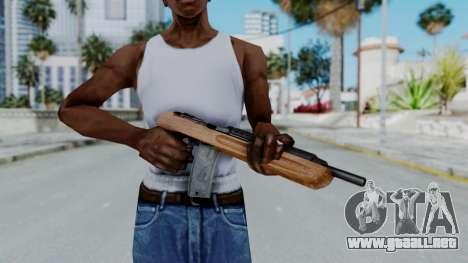 M1 Enforcer para GTA San Andreas tercera pantalla
