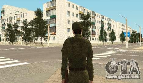 Los infantes de marina de las fuerzas armadas para GTA San Andreas sucesivamente de pantalla