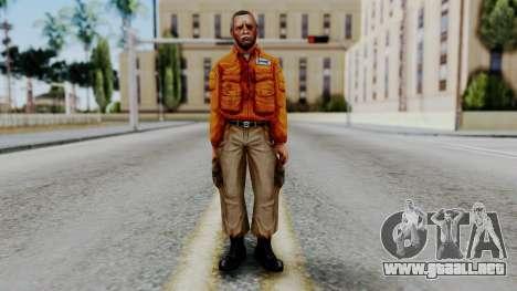 CS 1.6 Hostage 02 para GTA San Andreas segunda pantalla