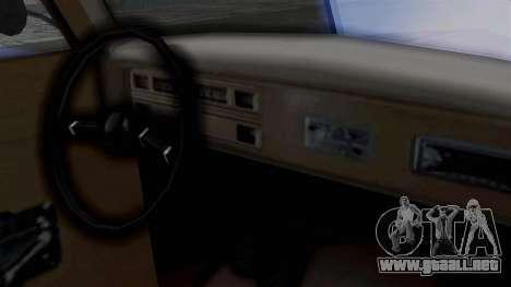 Lincoln Continental 1942 Mafia 2 v1 para GTA San Andreas vista hacia atrás
