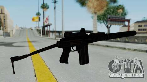 9A-91 Kobra and Suppressor para GTA San Andreas segunda pantalla