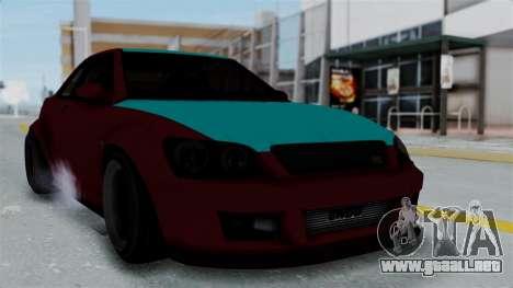 GTA 5 Karin Sultan RS Stock para GTA San Andreas