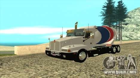 Kenworth T600 Camión De Cemento para GTA San Andreas