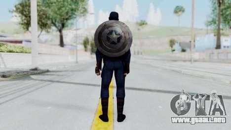 Marvel Future Fight - Captain America para GTA San Andreas tercera pantalla