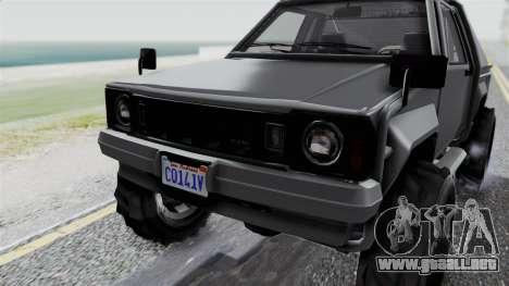 GTA 5 Karin Rebel 4x4 IVF para vista lateral GTA San Andreas