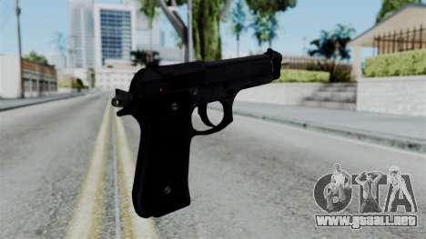 No More Room in Hell - Beretta 92FS para GTA San Andreas segunda pantalla