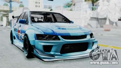 Mitsubishi Lancer Evolution IX MR Edition v2 para GTA San Andreas