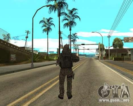 Ejército ruso Skin Pack para GTA San Andreas octavo de pantalla