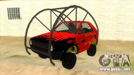 Volkswagen Golf MK2 RollGolf para GTA San Andreas