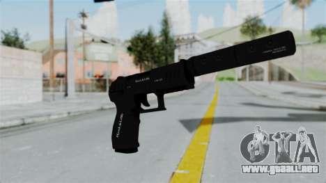 GTA 5 Combat Pistol para GTA San Andreas segunda pantalla
