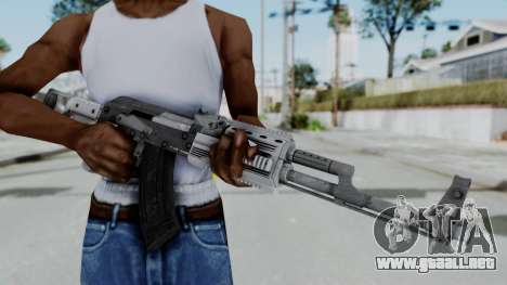 GTA 5 Assault Rifle - Misterix 4 Weapons para GTA San Andreas tercera pantalla