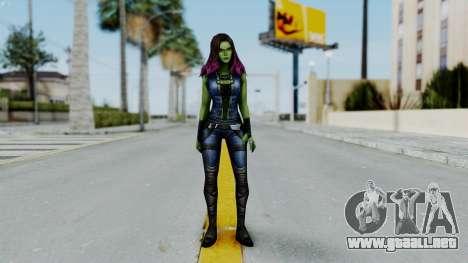 Marvel Future Fight - Gamora para GTA San Andreas segunda pantalla