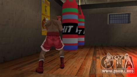 New Punching Bag para GTA San Andreas
