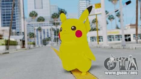 Dancing Pokemon Band - Pikachu para GTA San Andreas